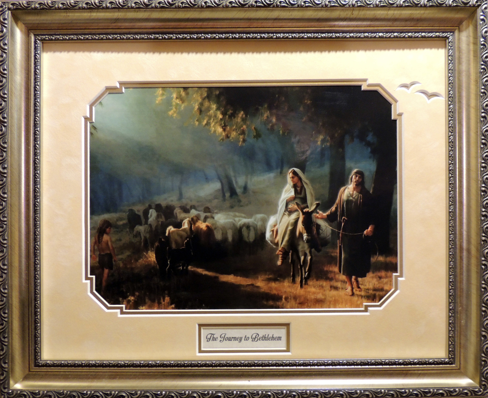 Picture this framing co custom frame shop the journey to bethlehem 16x20 jeuxipadfo Image collections
